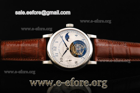 A.Lange & Sohne Datograph Moonphase Tourbillon Watch - 712.05.SMB