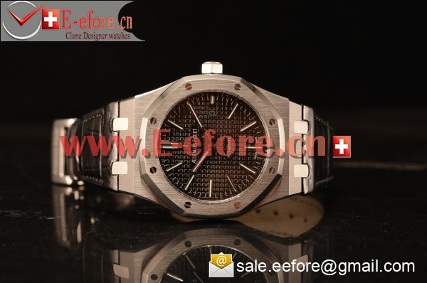 Audemars Piguet Royal Oak 41mm Black Dial Automatic Clone Ap 3120 Movement 15500ST.OO.1220ST.03 JH