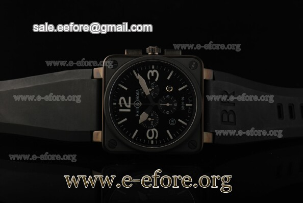Bell & Ross BR 01-94 Chrono Black PVD Watch