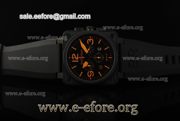 Bell & Ross BR 01-94 Chrono Orange Markers Watch