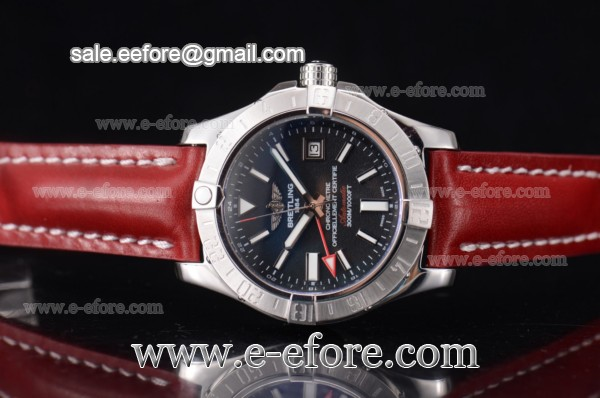 Breitling Avenger II GMT Steel Watch - A3239011-BC35-170A