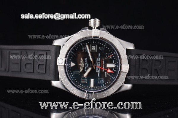 Breitling Avenger II GMT Steel Watch - A3239011-BC35-152S-A20S.1