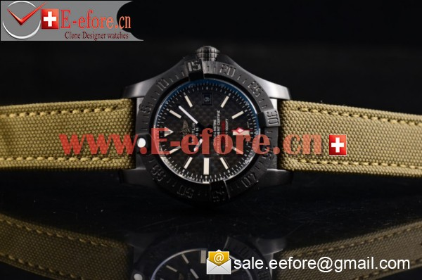 1:1 Breitling Avenger Seawolf II 75 Anniversary Army Air PVD Watch-M17331 (H)