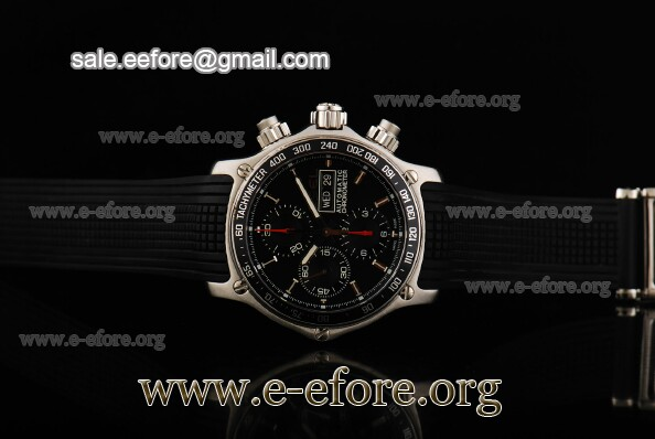 Ebel Chronometer 1911 Discovery Chrono Watch - 9750L62/53B35606