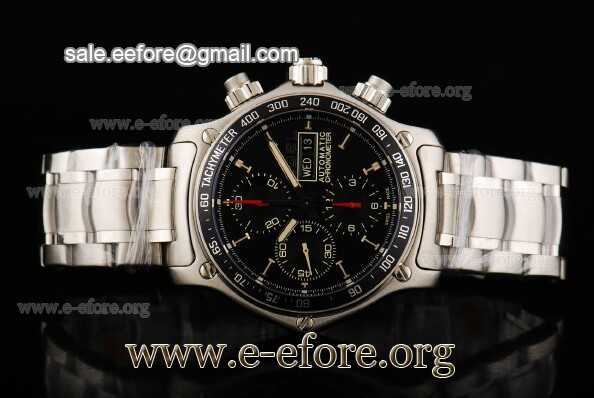 Ebel Chronometer 1911 Discovery Chrono Watch - 9750L62/53B60
