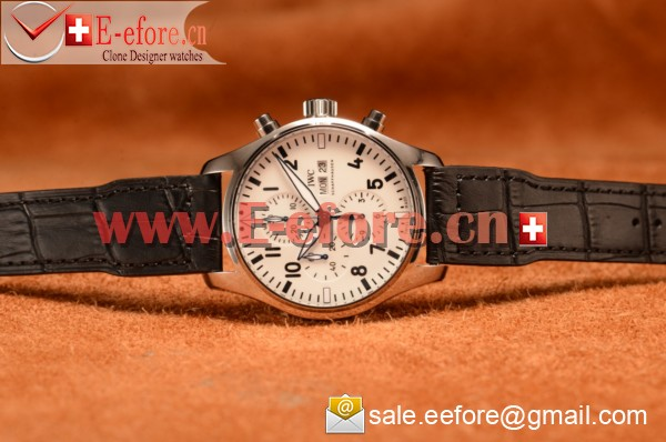 "1:1 IWC Pilot's Watch Chronograph Edition ""150 Years"" Chronograph Steel Case Watch- IW377725"