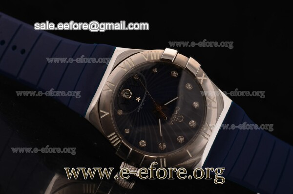 Omega Constellation Ladies Diamonds Markers Watch - 123.18.35.60.56.001