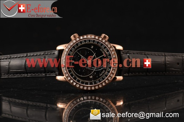 Patek Philippe Grand Complication Rose Gold Watch - 6104R