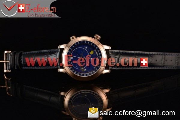 Patek Philippe Grand Complication Sky Moon Celestial Rose Gold Watch - 6102P (GF)