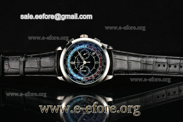 Patek Philippe Complicated World Time Chrono Watch - 5130P-02