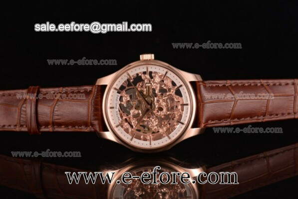 Patek Philippe Complicated Skeleton Rose Gold Watch - 51843-1G-001 (GF)