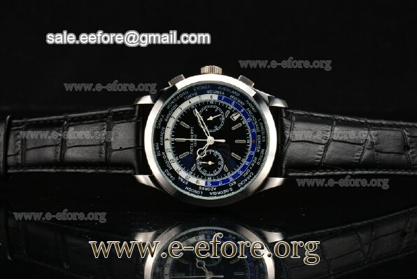 Patek Philippe Complicated World Time Chrono Watch - 5130P-01