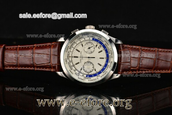 Patek Philippe Complicated World Time Chrono Watch - 5130P-03