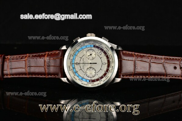 Patek Philippe Complicated World Time Chrono Watch - 5130P-04