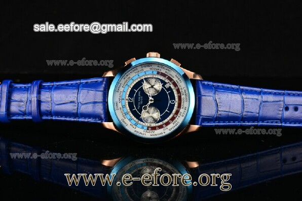Patek Philippe Complicated World Time Chrono Watch - 5130R-01