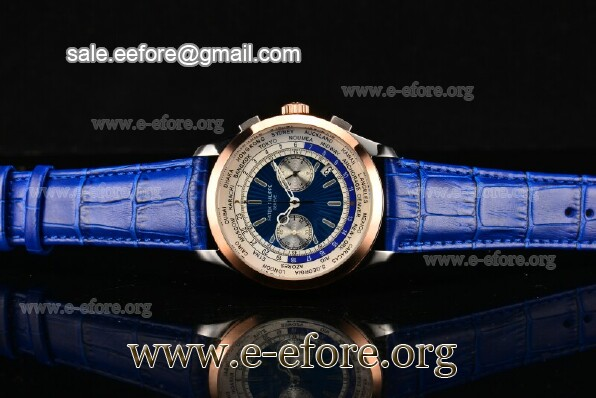 Patek Philippe Complicated World Time Chrono Watch - 5130P-05