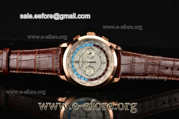 Patek Philippe Complicated World Time Chrono Watch - 5130R-02