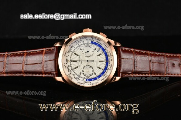 Patek Philippe Complicated World Time Chrono Watch - 5130R-03