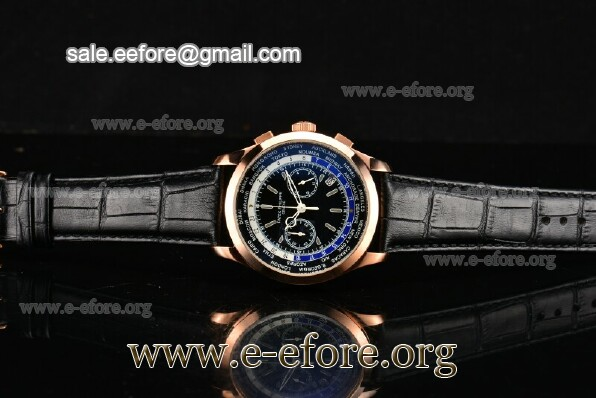 Patek Philippe Complicated World Time Chrono Watch - 5130R-04