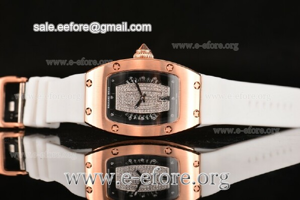 Richard Mille White Rubber Watch - RM007