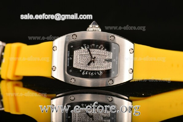 Richard Mille Yellow Rubber Watch - RM007