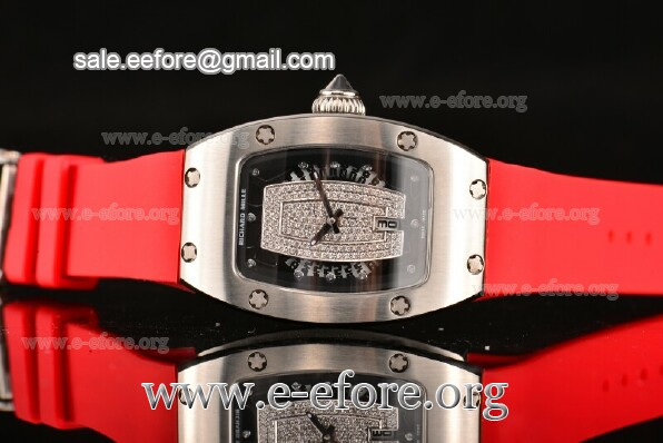 Richard Mille Red Rubber Watch - RM007