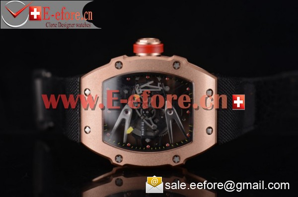 Richard Mille RM027-2 Rose Gold Watch