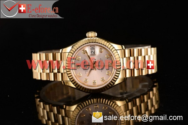 Rolex Datejust Yellow Gold Watch - 279178 sid (BP)