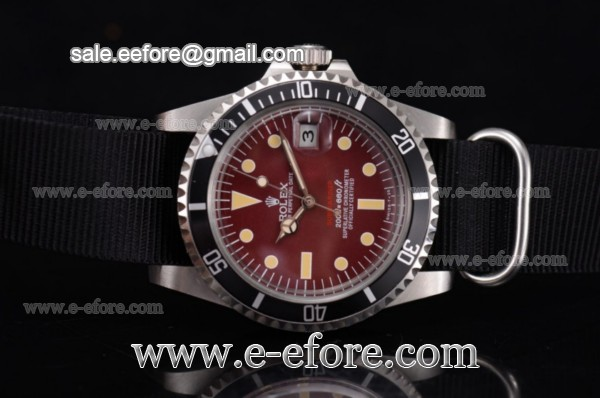 Rolex Submariner Vintage Steel Watch - 1680 blkn