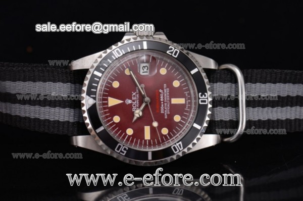 Rolex Submariner Vintage Steel Watch - 1680 blkgrn