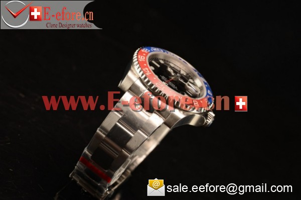 1:1 Rolex GMT-Master II Steel Watch-16710(Summer)