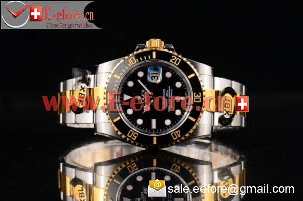 1:1 Rolex Submariner Two Tone Watch-116613LN